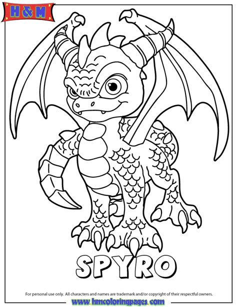 Kids Colouring Spyro Coloring Pages Tricycle Coloring