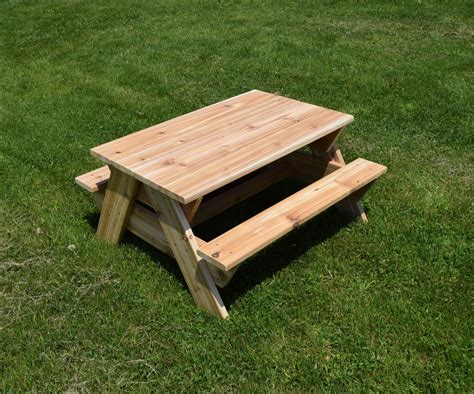 Kids Picnic Table 8 Steps with Pictures