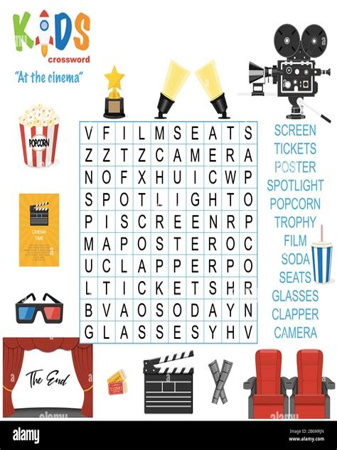Kids crosswords kids puzzles word search kids games