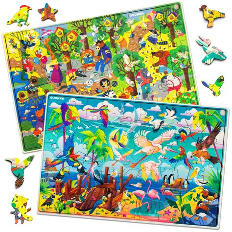 Kids jigsaw puzzles Coloring4all
