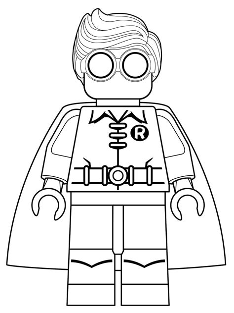 Kids n fun 16 coloring pages of Lego Batman Movie