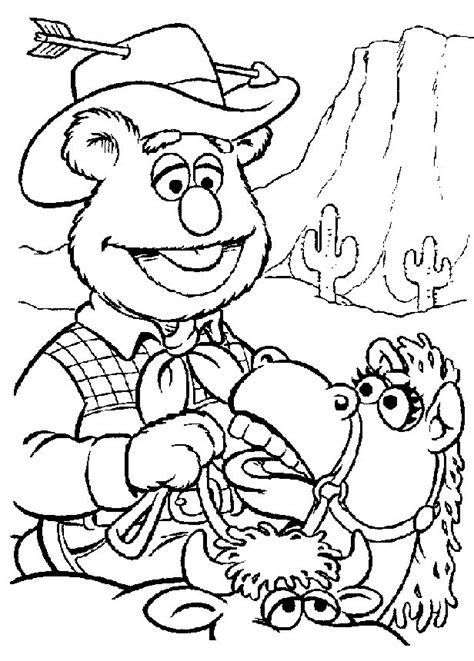 Kids n fun 25 coloring pages of Muppets