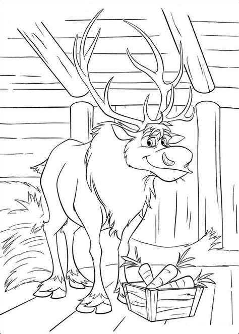Kids n fun 35 coloring pages of Frozen