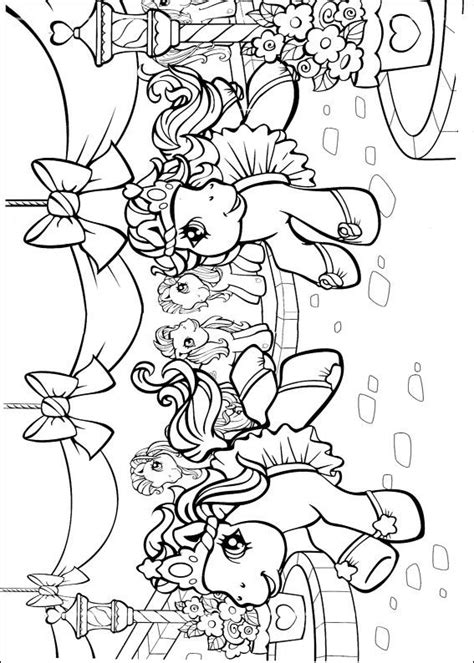 Kids n fun 70 coloring pages of My little pony