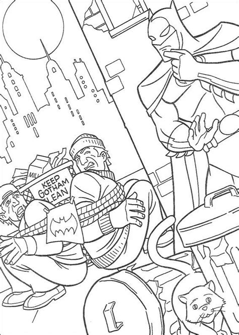 Kids n fun 72 coloring pages of Batman