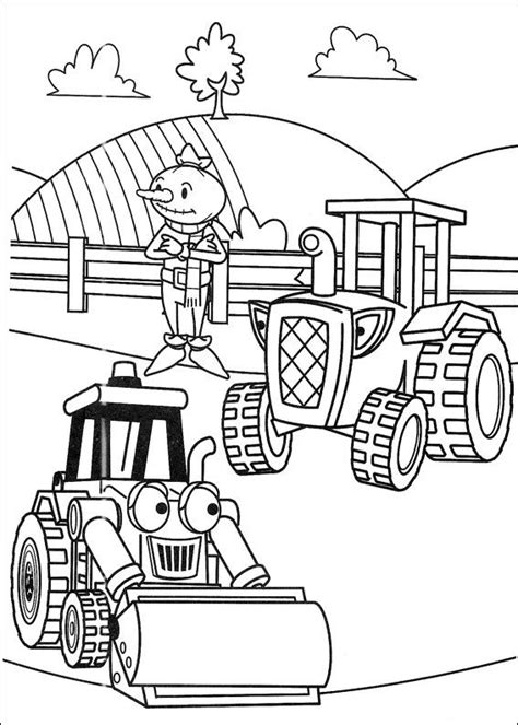 Kids n fun 87 coloring pages of Bob the Builder