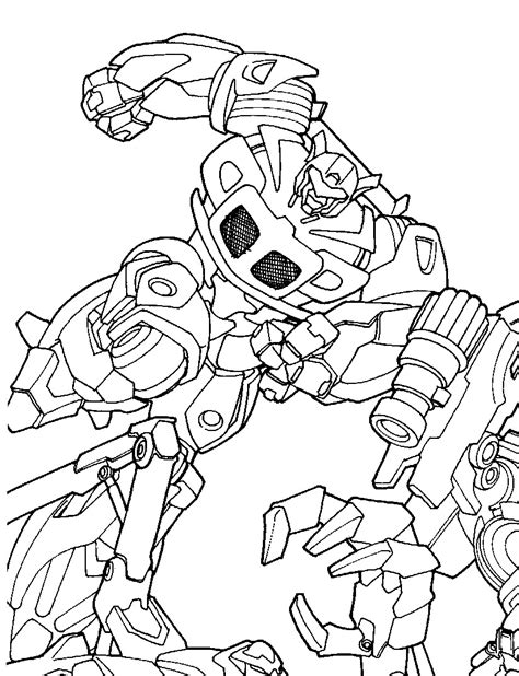 Kids n fun Coloring page Transformers Transformers
