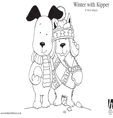 Kipper The Dog Coloring Pages calvan