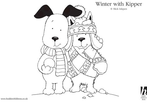 Kipper The Dog Coloring Pages thebcn