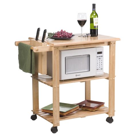 Kitchen Carts Mobile Kitchen Carts Microwave Carts on
