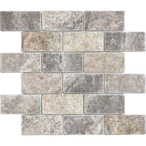 Kitchen Floor Mosaic Tile Tile The Home Depot