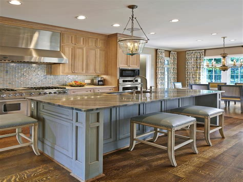 Kitchen Ideas Design with Cabinets Islands HGTV