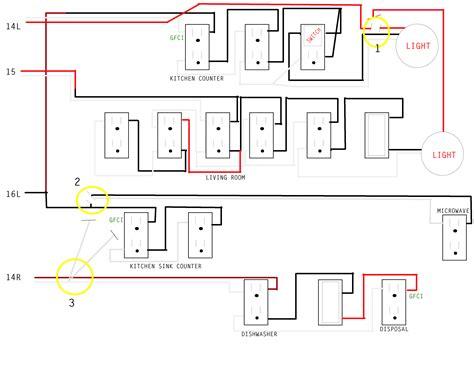Kitchen Plug Wiring Diagram