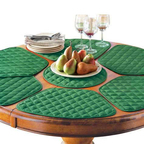 Kitchen Table Placemat and Centerpiece Set 7 pc from