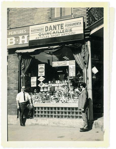 Kitchen store in Montreal Quincaillerie Dante