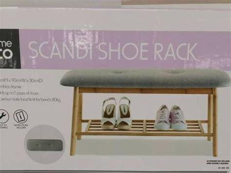 Kmart shoe rack New range Inspired Living launches in