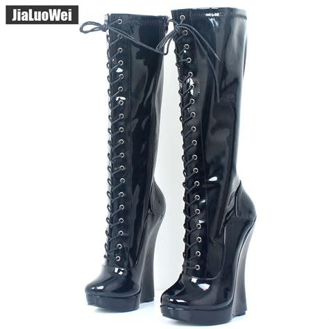 Knee High Boots Exotic High Heels