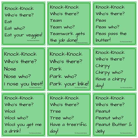 Knock Knock Jokes kids jokes of the day