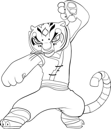 Kung Fu Panda coloring pages Free Coloring Pages