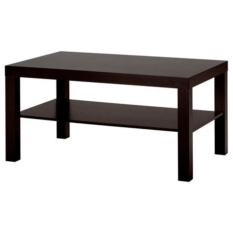 LACK Coffee table black brown IKEA