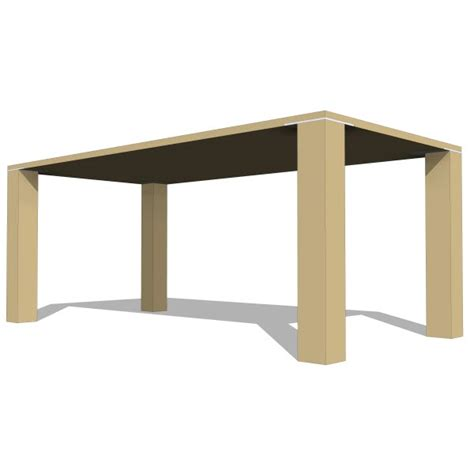 LAX Series Edge Dining Square Table 10285 2 00