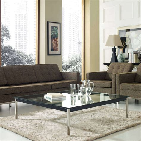 LC10 Square Coffee Table Contemporary Coffee Tables