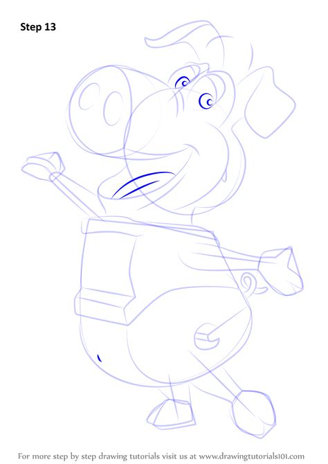 LEARN HOW TO DRAW PIGS DRAWING LESSONS