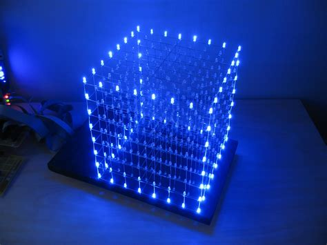 LED Cube 8x8x8 72 Steps with Pictures