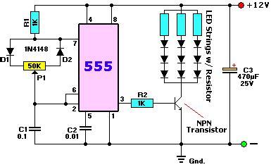 LED Dimmer Circuit REUK