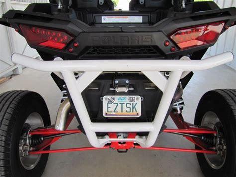 LED License Plate Bracket for Polaris Ranger XP HD RZR