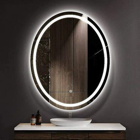 LED Lighted Bathroom Mirrors Buy Oval Mirrors Circle Mirror