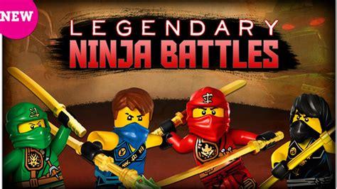 LEGO Legendarne bitwy ninja Legendary Ninja Battles