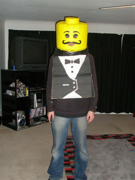 LEGO Man Costume 8 Steps with Pictures Instructables