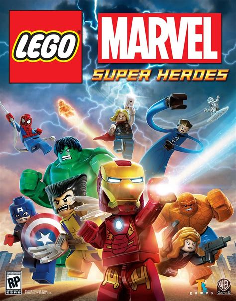 LEGO Marvel Super Heroes Brickipedia