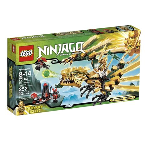LEGO NINJAGO THE GOLDEN DRAGON 70503 YouTube