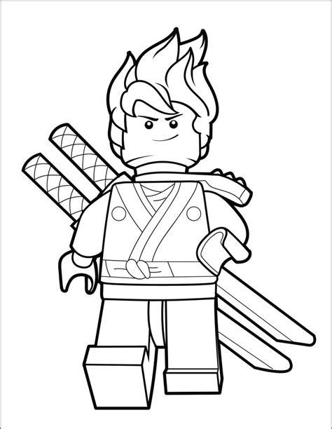 LEGO Ninjago Coloring Pages Brick Show