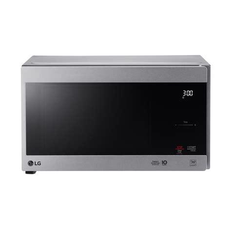 LG LMC0975SW 0 9 cu ft Capacity Countertop Microwave