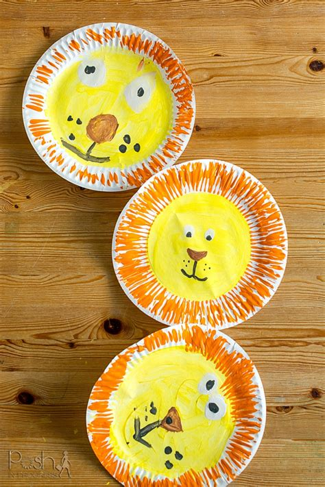LION CRAFTS FOR KIDS Ideas for Arts Crafts Activities