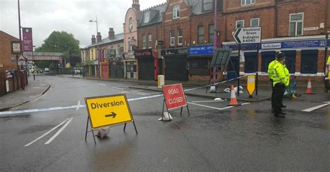 LIVE updates Witton Railway Station Manor Road and
