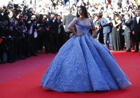 LOOK Bollywood star Aishwarya Rai dons Michael Cinco gown