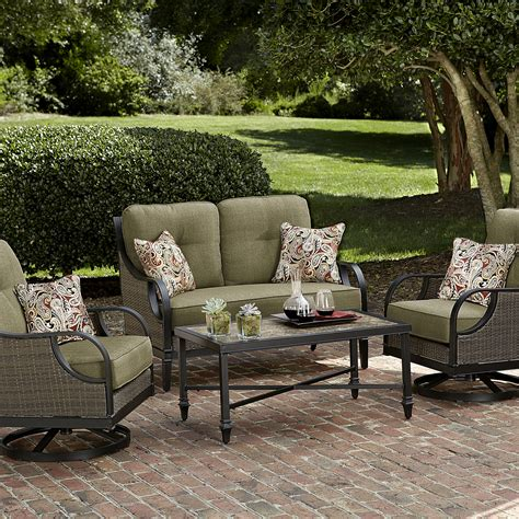 La Z Boy Outdoor Charlotte 4 Piece Seating Set