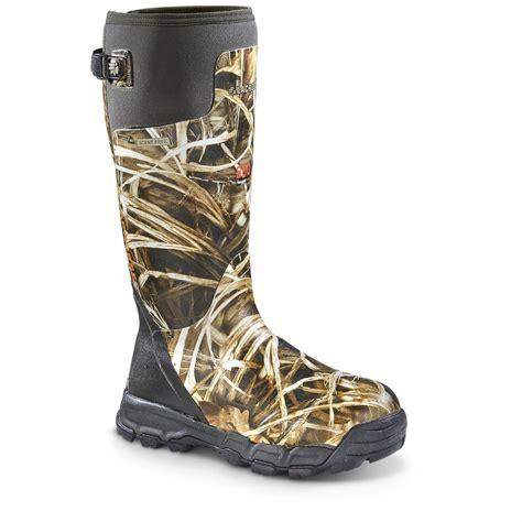LaCrosse Men s AlphaBurly Pro 800 gram Rubber Boots