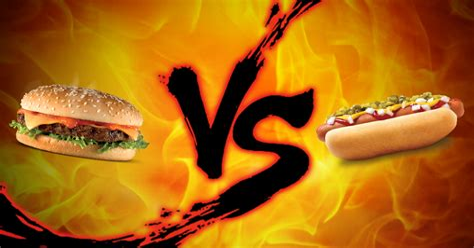 Labor Day Showdown Burger vs Hot Dogs lifehacker