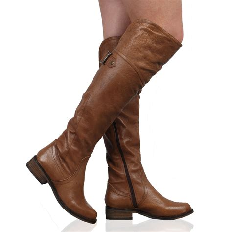 Ladies Over the Knee Boots Dune Shoes Online