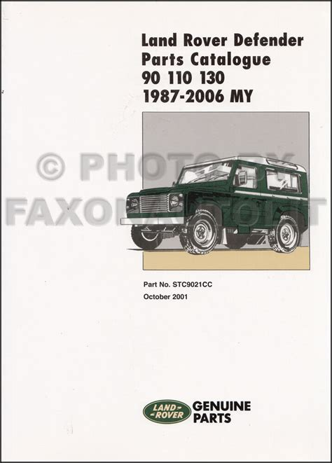 land rover defender 110 td5 wiring diagram images land rover land rover defender manuals and parts catalogue