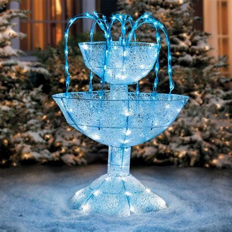 Lawn Ornaments Fountains Statues Christmas Decorations