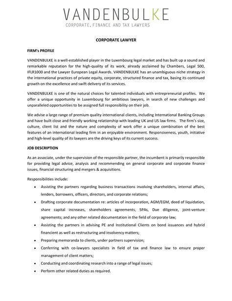 Lawyers Job Description MyPlan