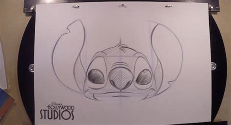 Learn to Draw Stitch at Disney s Hollywood Studios