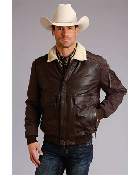 Leather Jackets Black Brown More Sheplers