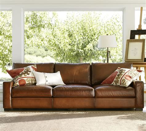 Leather Sofas Pottery Barn